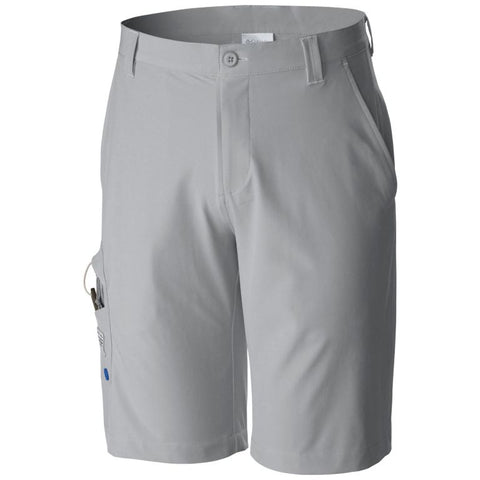 Columbia Men's PFG Terminal Tackle™ Short Cool Grey/Vivid Blue