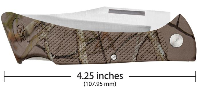 Case Knife Camo Caliber Lightweight Synthetic Mako With Ballistic Nylon Sheath