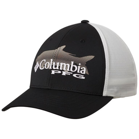 Columbia PFG Signature 110™ II Ball Cap Black/Cool Grey