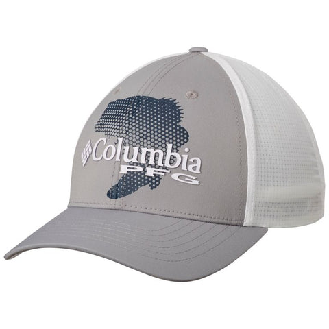 Columbia PFG Signature 110™ II Ball Cap Cool Grey/Collegiate Navy