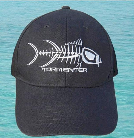 Tormenter Black Cap White Logo