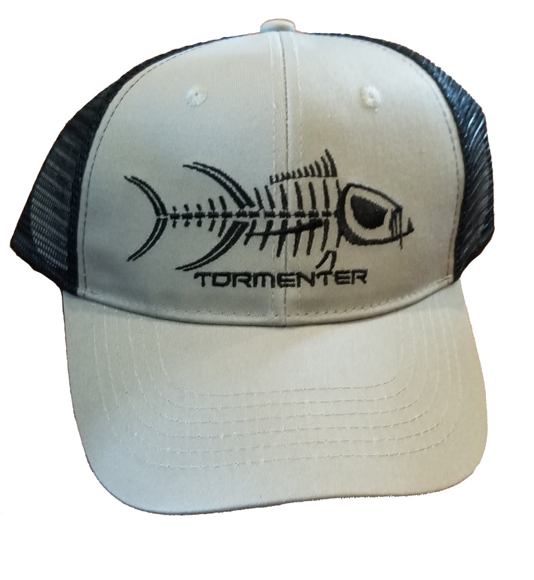 Tormenter Grey Hat with Black Mesh