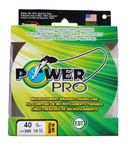 Power Pro Hi-Vis Yellow 40 lb 300 yds Braided Fishing Line