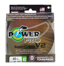 Power Pro Super 8 Slick V2 Hi-Vis Aqua 40 lb 150 yds Braided Fishing Line