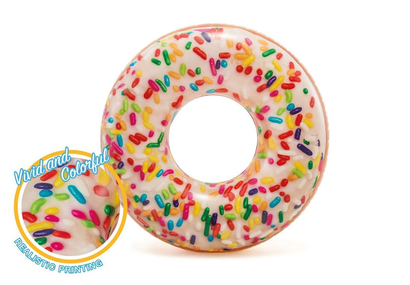 Intex Rainbow Sprinkle Donut Tube