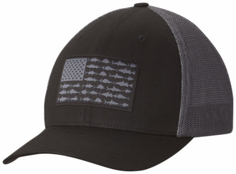 Columbia Fish Flag Cap Black