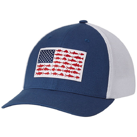Columbia Fish Flag Cap Night Tide