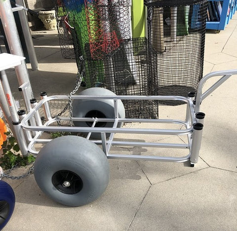 Angler's Fish-n-Mate Cart Grey Tire 686-XL