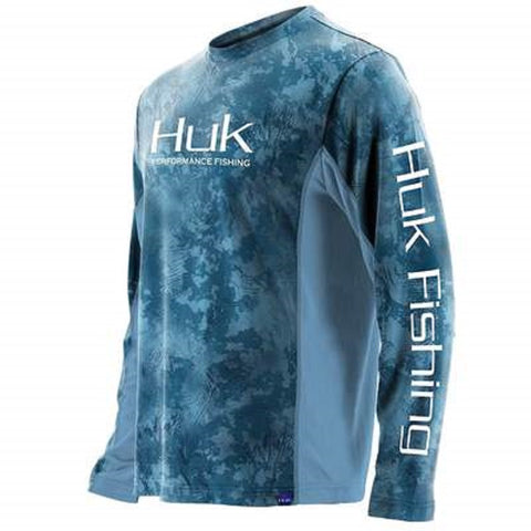 Huk Men's Icon X Camo Long Sleeve Shirt