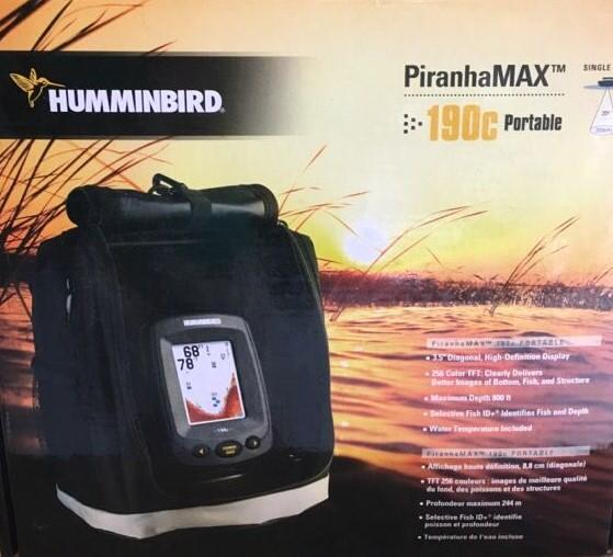 Humminbird PiranhaMAX 190C Portable