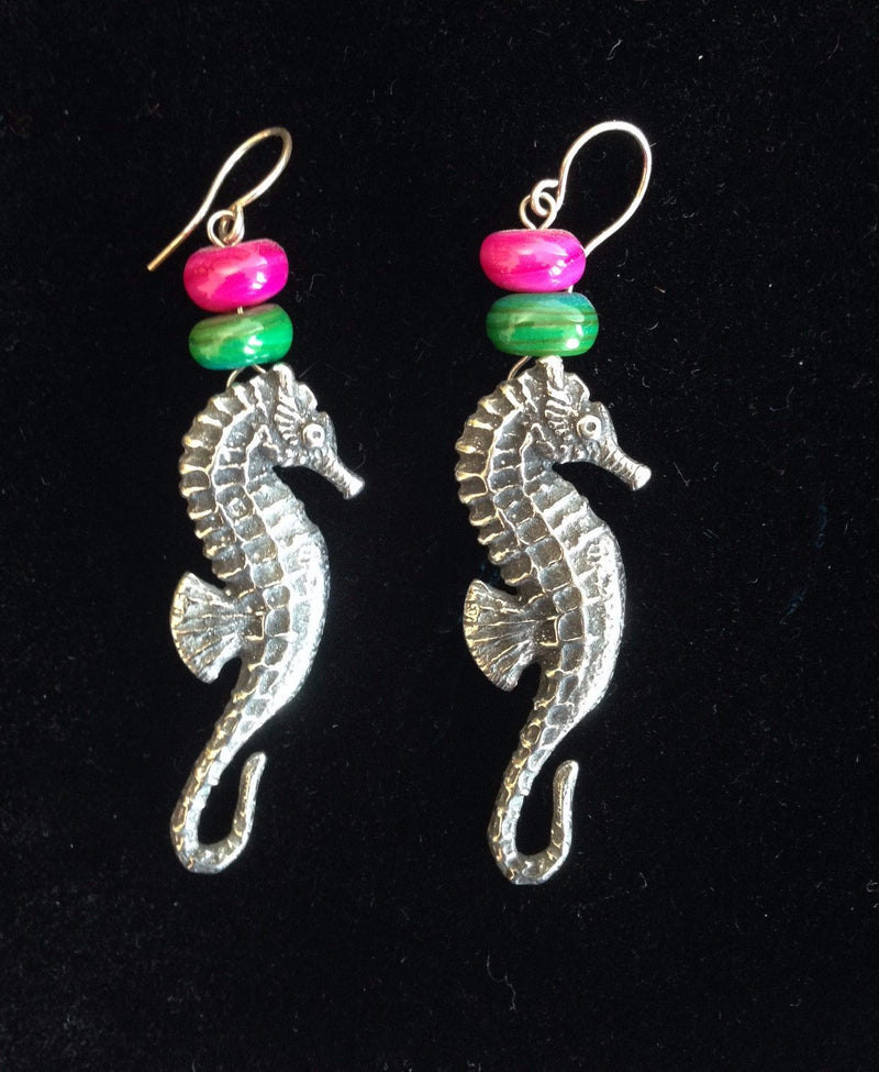 Seahorse Earrings SLE09