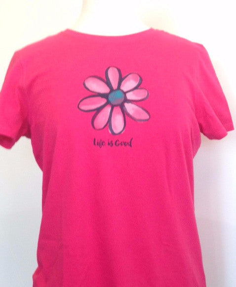 Life is Good Women's Daisy Tee