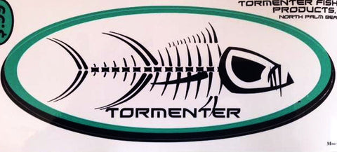 Tormenter Decal White