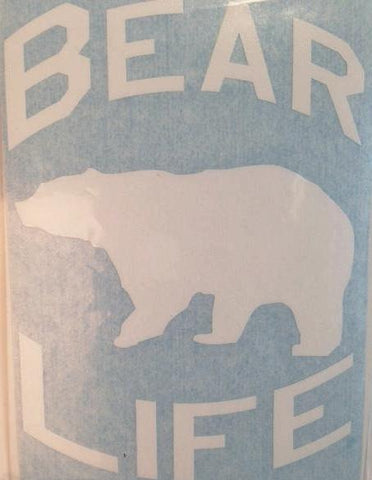 Bear Life Decal