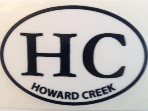 Howard Creek Decal