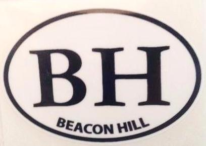 Beacon Hill Small Decal