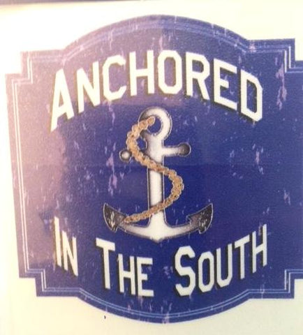 Anchored In The South Decal