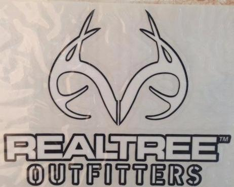 RealTree Outfitters Decal Black