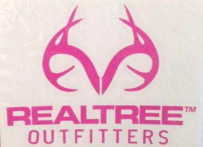 RealTree Outfitters Decal Pink