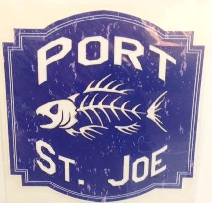 Port St. Joe Blue Shield Decal