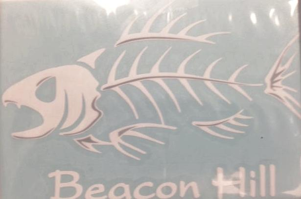 Beacon Hill Angry Fish Decal