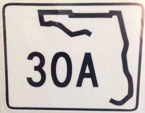Florida 30 A Decal