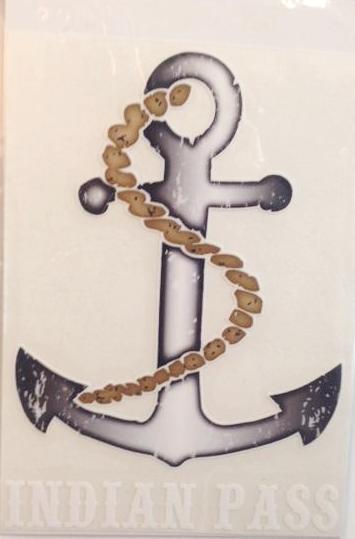 Indian Pass Anchor Decal