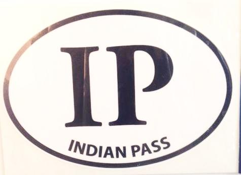 Indian Pass Decal Oval IP