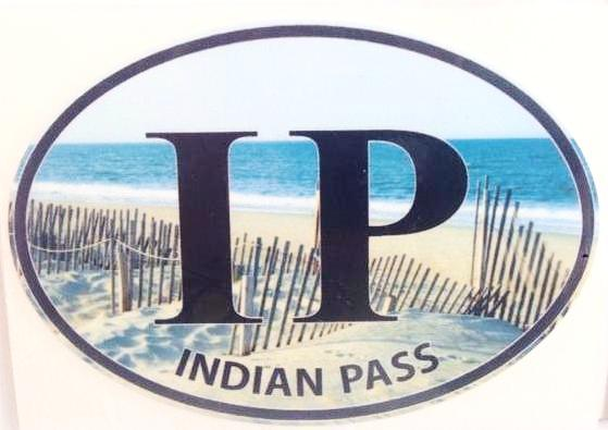 Indian Pass Color Decal