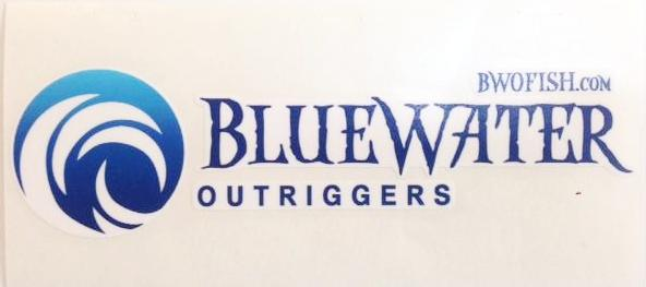 BlueWater Outriggers Decal