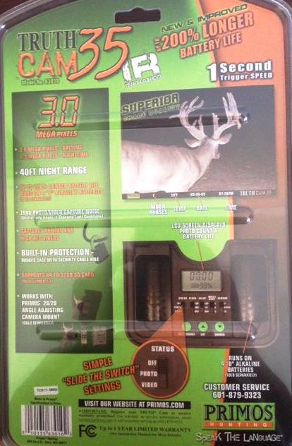 Primos Truth Cam 35 Game Camera 2