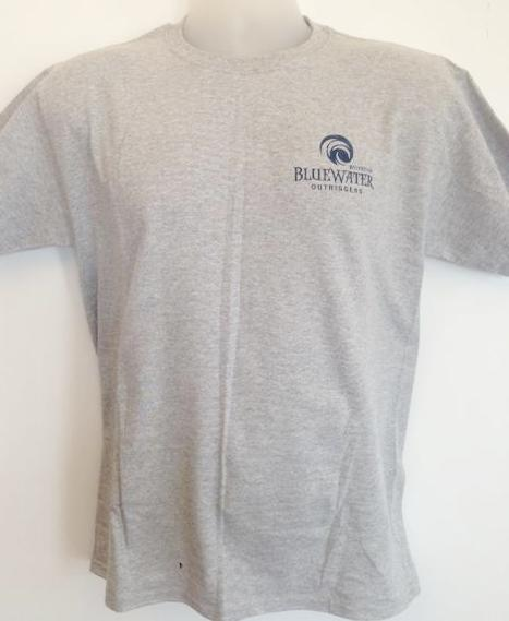 Youth BWO Swirl T-Shirt Grey/Navy 1
