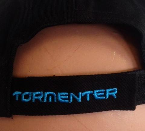 Tormenter Black Cap Blue Logo