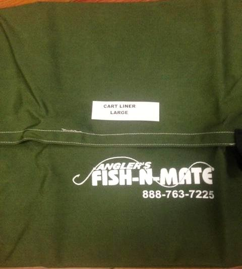 Large Fishing Cart Liner green