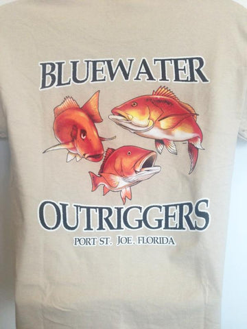 Youth BWO Red Snapper T-Shirt Sand