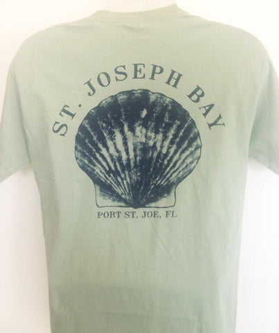 BWO Scallop BayGreen/Navy T-Shirt