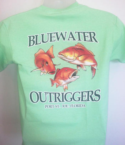 Youth BWO Red Snapper T-Shirt Mint