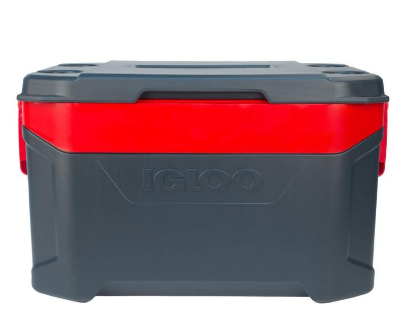 Igloo Latitude 50 Qt Cooler Red