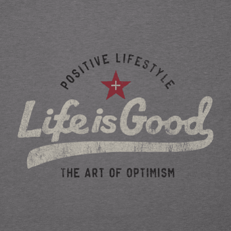 Life Is Good Men's Positive Lifestyle