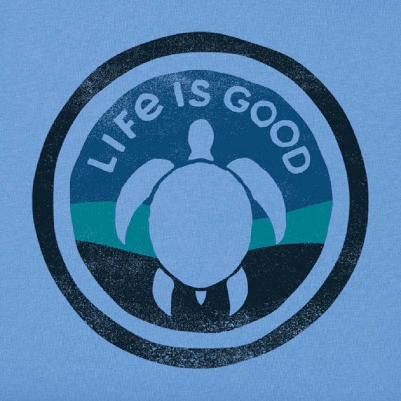 Life Is Good Men's Turtle Coin