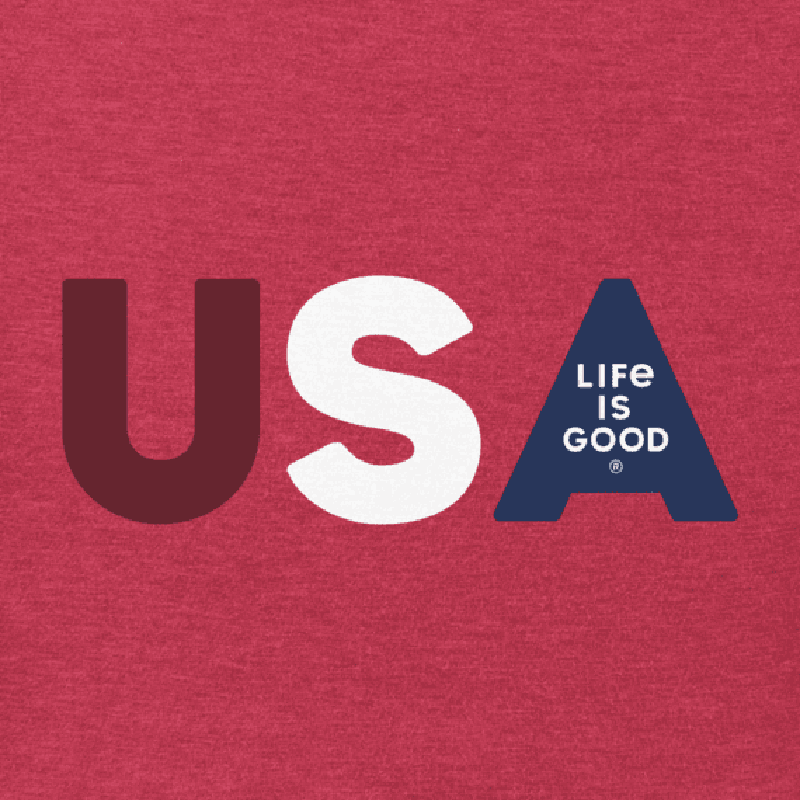 Life Is Good Men's USA