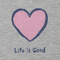 Life Is Good Women's Classic Heart