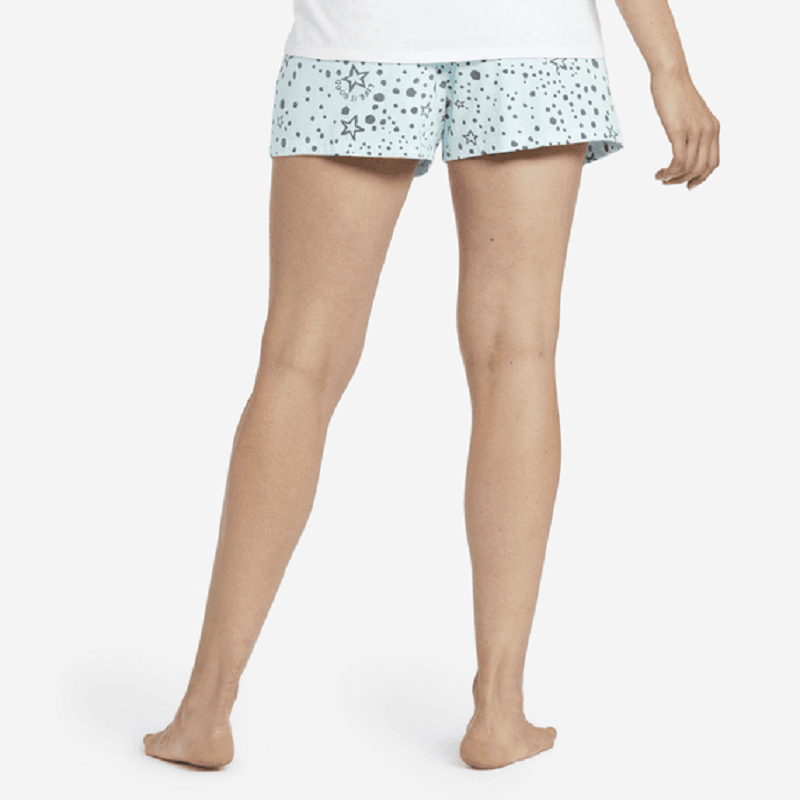 Life Is Good Women's Sleep Stars Shorts