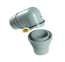 Camco RV Sewer Elbow & 4-in-1 Adapter 39144