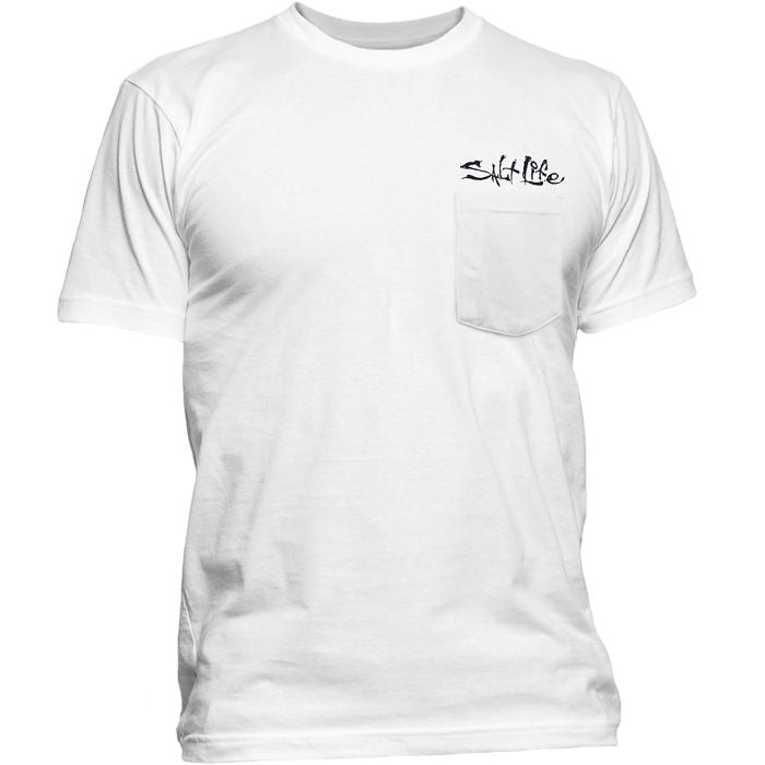 Salt Life Men's Florida Dawn Pocket Tee SLM10684
