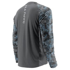 Huk Men's Double Header Vented Long Sleeve