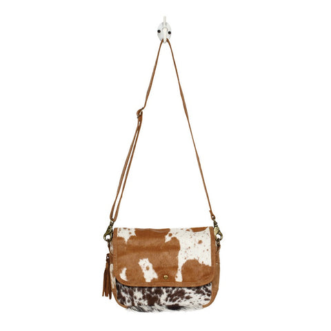 Myra Handbags Dazzling Hairon Bag