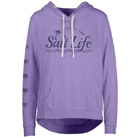 Salt Life Women's Salt Love Sunburnt Lightweight Pullover Hoodie