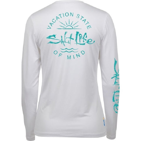 Salt Life Women's State Of Mind Long Sleeve Performance Tee
