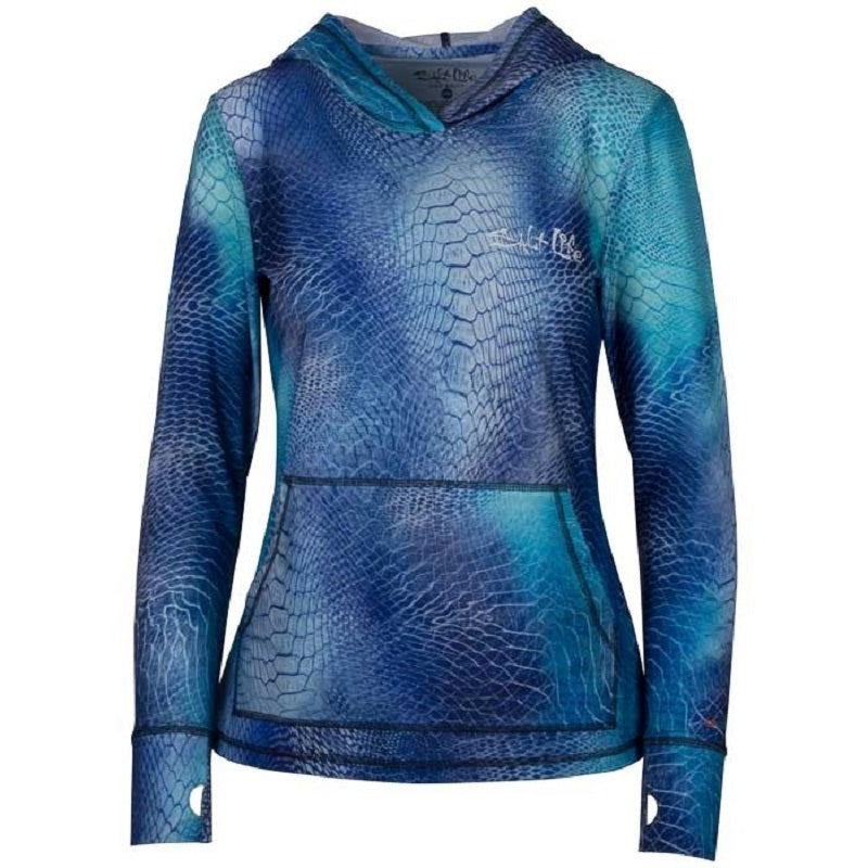 Salt Life Women's Ocean Skins Performance Hoodie
